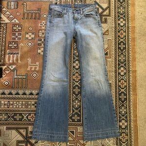 7 for all mankind Dojo trouser wide leg jean
